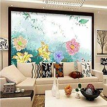 Meaosy Vintage Blumen Tapete Für Wände 3D