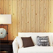 Meaosyy Holzplatten Holzmaserung Tapete für