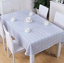 meaosyy Tischdecke Aus Polyester-Baumwolle Nordic