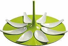 Mebel Entity 16 Fingerfood-Set Anrichteplatte,
