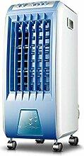 Mechanische Klimaanlage Ventilator einzigen Kaltluftgebläse Kühlventilator Haushaltskühl Chiller Klimaanlage Ventilator blau Mobil widgets