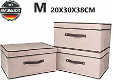 MECOREX Faltbox mit Deckel Faltbare
