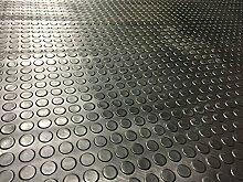 Medaille Teller Gummi Fußmatte Garage Bodenbelag