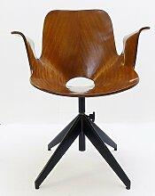 Medea Schreibtischstuhl mit Drehgestell von