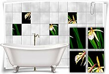 Medianlux Fliesen-Aufkleber Fliesen-Bild Lilien