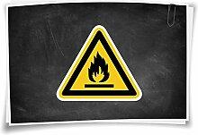 Medianlux Warnhinweis W021 Warnung vor