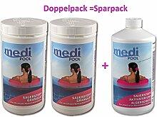 mediPOOL SET 2 x Sauerstoff Granulat 1,0 kg + 1 x Aktivsauerstoff Aktivator 1,0 l