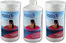 mediPOOL SET 2 x Sauerstoff Granulat 1,0 kg + 1 x