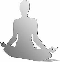 Meditation Acryl Spiegel, acryl, 300 x 298mm