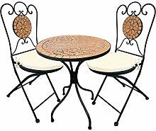 Mediterane Mosaik Garnitur 5-teilig Sitzgruppe