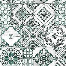 Mediterrane Fliesen Peeling Sticker Tapete
