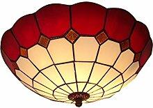 Mediterrane Glas Schlafzimmer Deckenleuchte Lampe