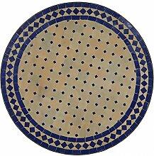 Mediterraner Gartentisch marokkanischer