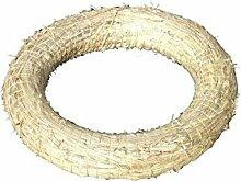Medium Adventrömer - 20 Stück - Durchmesser 25cm / 3cm - Römer zum Basteln von Adventskränzen