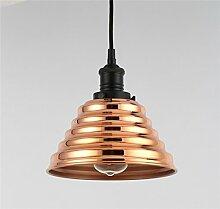 Meeloa Lampe Pyramide verkupferter + LED-Lampe