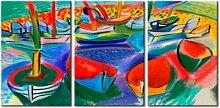Meer der Farben' Gemälde Mehrteiliges Bild