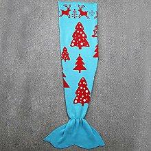 Meerjungfrau Decke Handgefertigte Gestrickte