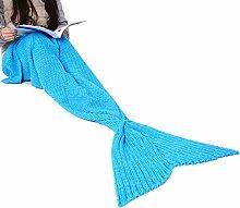 Meerjungfrau Schwanz Decke Ohuhu Meerjungfrau