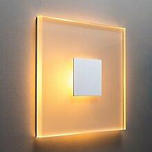 SunLED Small LED Treppenbeleuchtung Treppenlicht Stufenlicht Alu-Glas 1W 230V