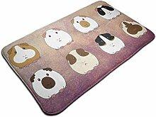 Meerschweinchen Indoor Fußmatte Teppichrücken