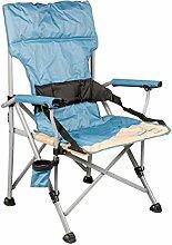 Meerweh Erwachsene Camping Faltstuhl Deluxe mit
