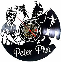 Meet Beauty Walt Disney Wanduhr Peter Pan aus