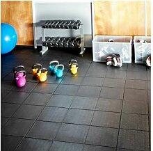 Mega Deal | Fitnessboden + Rampen 6 x 6 m