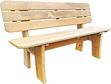 Mega Holz Gartenbank aus massiver Esche -