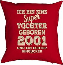 Mega-Shirt zum 18. Geburtstag Geschenkidee Polster