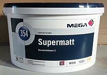 Mega Supermatt 12,5 Liter weiss Farbe Wandfarbe