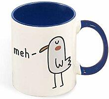 Meh Travel Best Funny Coffee Mug Sarcastic Novelty