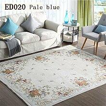 MEHE HOME-amerikanischen Teppich Wohnzimmer Tisch Matte Rural Pastoral Mittelmeer Nacht Continental Schlafzimmer Teppich