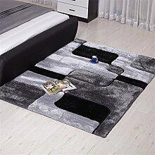 MEHE HOME- Einfache, moderne Teppich Wohnzimmer Schlafzimmer Nacht verdickte Teppiche