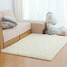 MEHE HOME- Einfache, moderne Waschbar Velvet Wohnzimmer Schlafzimmer Teppich
