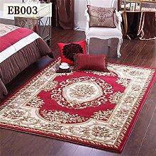 MEHE HOME-europäische Teppich Wohnzimmer Tisch Schlafzimmer Nachttischdecke Mats Handarbeit Verdickung amerikanischen
