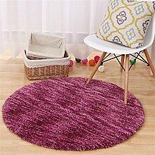 MEHE HOME- Import Sectional Färben Runde Teppiche Computer Stuhl Mat Wohnzimmer Schlafzimmer Teppich Yoga Teppiche