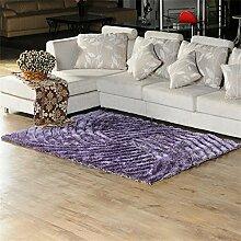 MEHE HOME- Luxus Europäische 3D Stereoscopic Stretch Garn Teppich Wohnzimmer Schlafzimmer Mode Teppich
