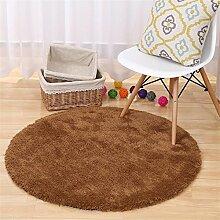 MEHE HOME- Super Runde Teppiche Wohnzimmer Schlafzimmer Teppich Computer Stuhl Teppiche