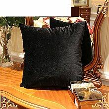 Mehr Farben/ einfache Kissen/PP Baumwoll-Kissen/Sofa-Bett Umarmung Kissenbezug-A 50x50cm(20x20inch)VersionB