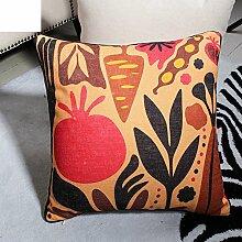 Mehr Farben/Moderne Kissen/PP Baumwoll-Kissen/Sofa-Bett halten Baumwolle Kissenbezug-A 45x45cm(18x18inch)VersionA