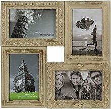 Mehrfach - Bilderrahmen für 4 Bilder oder Fotos