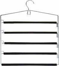 Mehrfach Hosenbügel 5 Stege Kleiderbügel Metallkleiderbügel Hosen Bügel