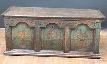 Mehrfarbige Antike Truhe, 1797