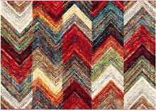 Mehrfarbiger moderner Teppich 160 x 230 cm CHEROKEE