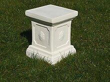 Mehrholz Steinfigur Sockel Steinsockel Farbe Beige