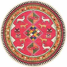 MEI XU Teppich Teppich - Round Carpet Wohnzimmer