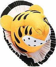 MEI XU Wanddekoration - Tiger 3D fühlte Tierkopf