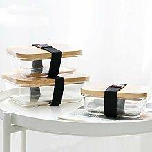 MEIDAY Lunchbox-Glas mit natürlicher