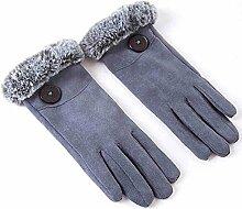 MEIDUO Handschuhe & Fäustlinge Sporthandschuhe Männer Frauen Frühling / Sommer / Herbst / Herbst Fahrradhandschuhe warm halten / Anti-Rutsch / Full-Finger Beste Geschenke ( Farbe : Grau )
