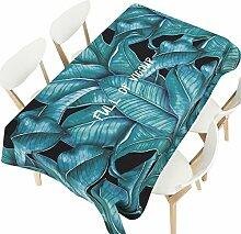 MEIE QIG Drucktischdecke, Anlage Kreative Tischdecke Esstisch Wohnzimmer Tischdecke Reine Farbe Restaurant Tuch Kunst Tischdecke Länge 85-240 CM (Farbe : B, größe : 140*140CM)